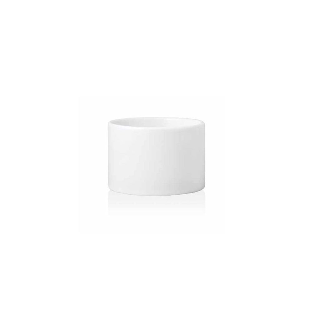 Front of the House ASC014WHP13 Tall Cup/Ramekin, 2'' Height, 3.25'' Diameter, 6 oz, Porcelain, White (Pack of 12)