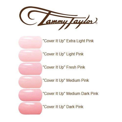 Tammy Taylor Cover It Up Powder 1.5oz (Medium (Tammy Taylor Nail Powder)