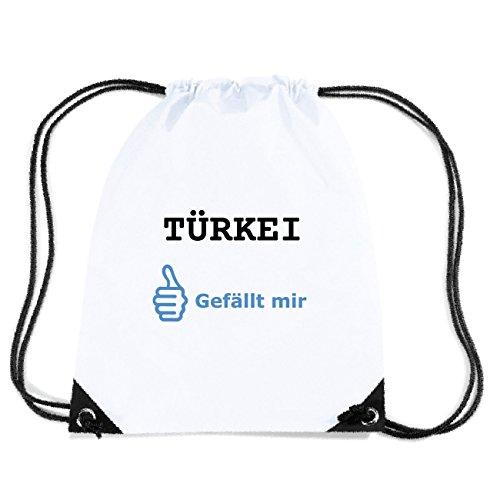 JOllify TÜRKEI Turnbeutel Tasche GYM4975 Design: Gefällt mir ow28Hw