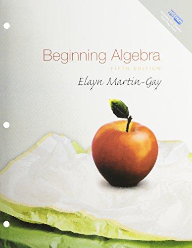 Beginning Algebra, A La Carte Plus (5th Edition)