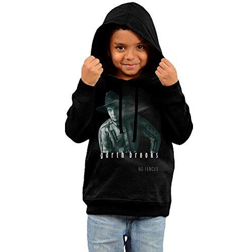 kyy-kids-garth-brooks-no-fences-boys-girls-hoodies-black-size-4-toddler