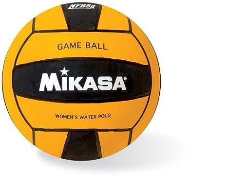 Mikasa Waterpolo Bola de Juego (Hombre) - W5500BLA, Negro: Amazon ...
