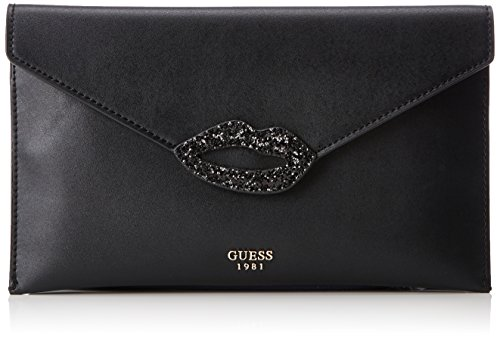 cm Womens Guess Clutch Black Hobo W x L 1x18x31 Bags H YYq6ga