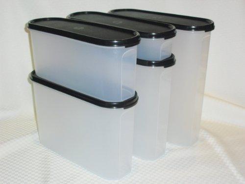- Tupperware Modular Mates Oval Set, Black