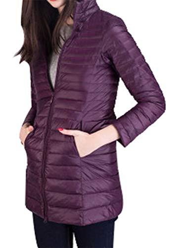 Légère Hiver Violet Femme Duvet Manteau Zhixing Chaud Longues Blouson Ultra  Veste Compressible Doudoune Apx0wt 8d5f6069e07