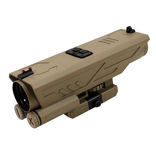 NcSTAR VDELTP430G Delta 4x30mmx 40mm, P4 Sniper Reticle, Green Lens