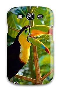 Brand New S3 Defender Case For Galaxy (toucan Bird )