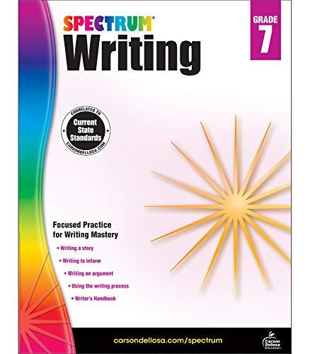 Spectrum Paperback Writing Book