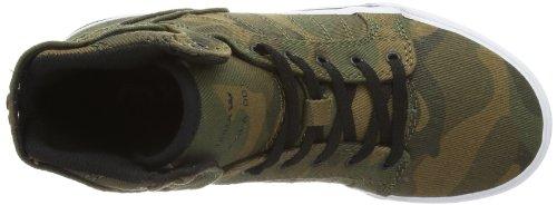 Supra KIDS SKYTOP S13030K Unisex-Kinder Sneaker Mehrfarbig (CAMO - WHITE CMW)
