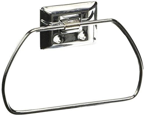 Decko Bath (Decko Bath 38100 Metal Towel Ring, Chrome)