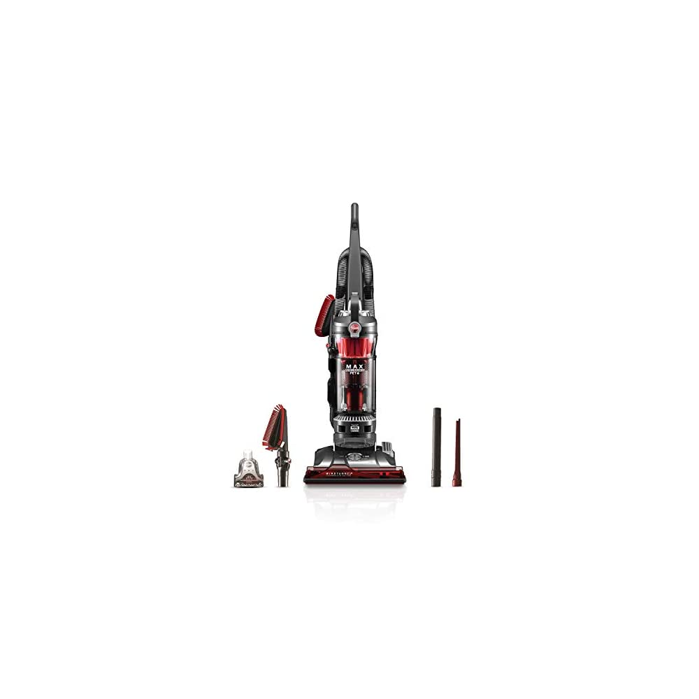 Hoover WindTunnel 3 Max Performance Pet, Bagless Upright Vacuum Cleaner, HEPA Media Filtration, For Carpet and Hard…