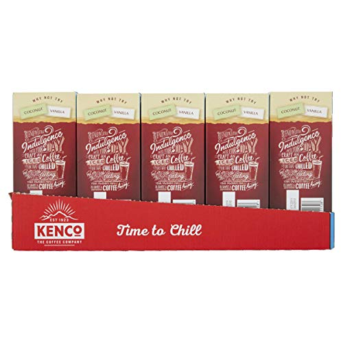 Kenco Iced Latte Salted Caramel Instant Coffee 8 Sachets 230