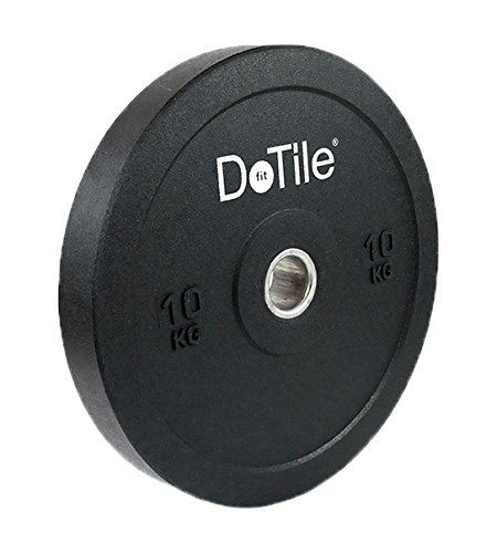 DoTile Fit Heavy Duty, optisches Single-Wippschalter 10 kg, schwarz