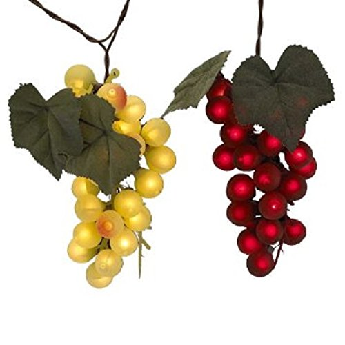 Kurt Adler UL0139 UL 100-Light Grape Cluster Light Set