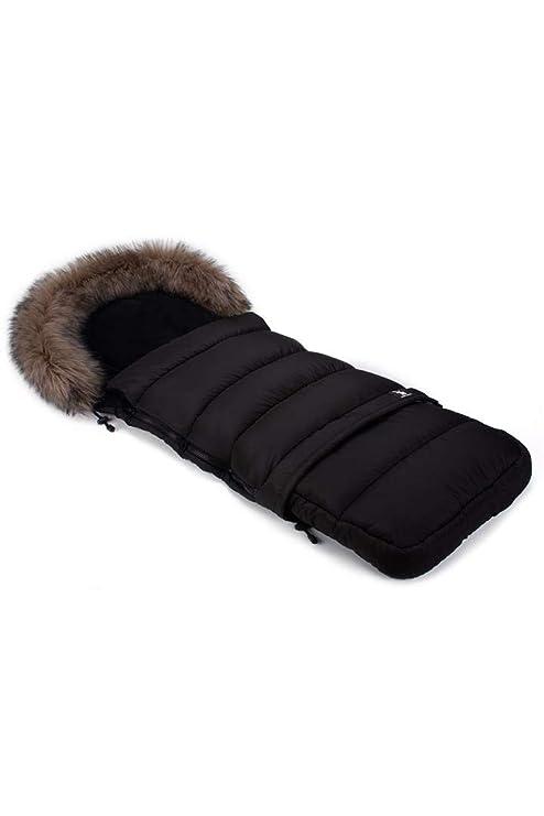 Cottonmoose Combi Fur Saco de invierno dormir térmico para carrito silla de bebé universal abrigo polar