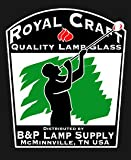 "B&P Lamp 3"" X 10"" Reg. Chimney, Clear, 4"" Outside"
