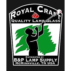 B&P Lamp 2 1/2″ X 7 1/2″ Chimney, Clear