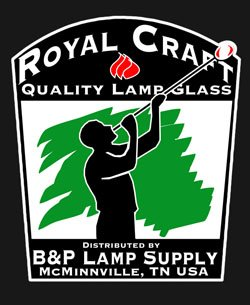 B&P Lamp 2 3/8'' X 12 1/4'' Clear Glass Chimney