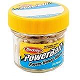 Berkley EBPHWN PowerBait Power Honey Worm, Natural, 1-Inch