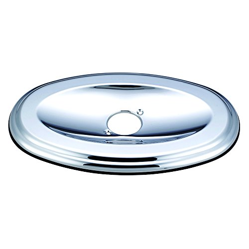 Kingston Brass KT138A1 Made To Match Oval Shower Face Plate 13-Inch Polished Chrome