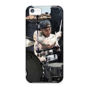 Iphone 5c NCM18530yQIn Allow Personal Design Nice Blink 182 Band Pictures Shock Absorbent Hard Phone Covers -AshleySimms
