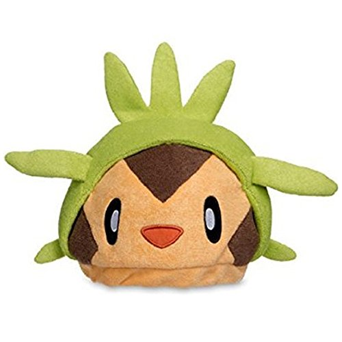 [Chespin Poké Plush Hat] (Game Boy Fancy Dress Costume)