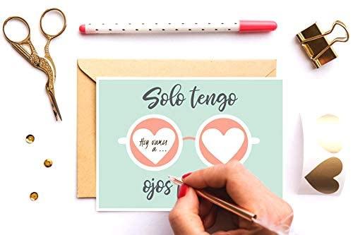 Tarjeta regalo hombre Día del Padre o San Valentín Postal ...