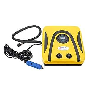 HITSAN 300PSI Portable Air Compressor Digital Car Auto Tyre Inflator Pump DC 12V 120W One Piece