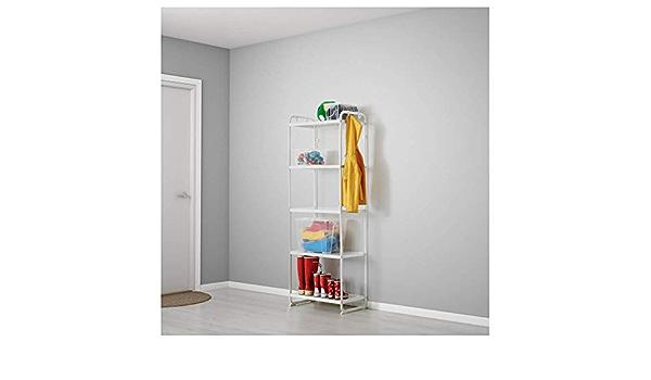 IKEA ASIA MULIG Estantería Color Blanco: Amazon.es: Hogar