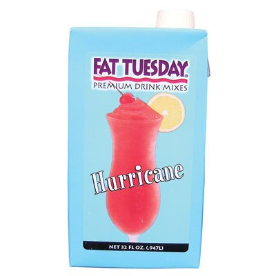 - Fat Tuesday Hurricane Drink Mix 32 ounces