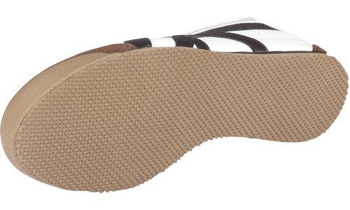 Asics - Zapatos unisex Blanco(White/Brown)