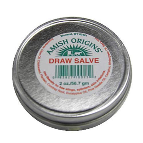 (Amish Origins Draw Salve Ointment, 2 Ounce)