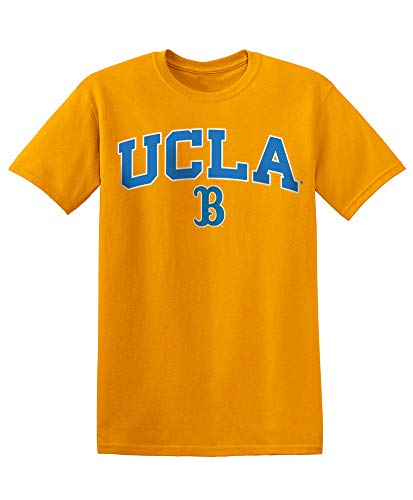 Elite Fan Shop NCAA Men's UCLA Bruins T Shirt Team Color Arch Ucla Bruins Gold XX-Large ()