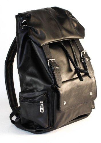 OrangeTag OrangeTag Synthetic Soft Leather Backpack School Bag Travel Bag Sports Backpa...