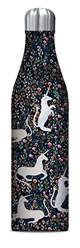 Studio Oh! 25 oz. Insulated Stainless Steel Water Bottle Available in 10 Different Designs, Sonia Cavallini Stay Magical Unicorns from Studio Oh