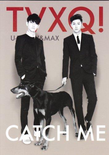 "Dong Bang Shin Ki / TVXQ / Chang Min (Max / MAX), Yunho (Yunho / U-KNOW) / SM Entertainment / TVXQ (Dong Bang Shin Ki)! U-KNOW & MAX ""CATCH ME"" official notebook / made in Korea (japan import)"