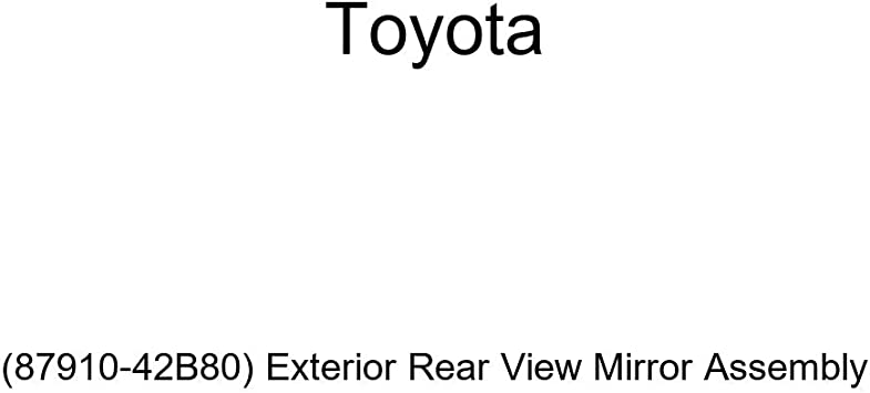 Exterior Rear View Mirror Assembly 87910-42B80 Genuine Toyota
