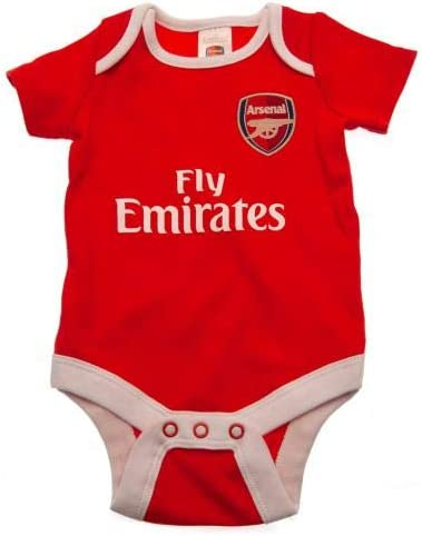 2 Pack Bodysuit 6//9 mths YL Official Merchandise Arsenal F.C