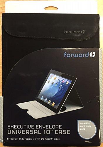 Forward Industries, Inc. Executive Envelope for 10-Inch Tablet, Black (FCTSL10BK)
