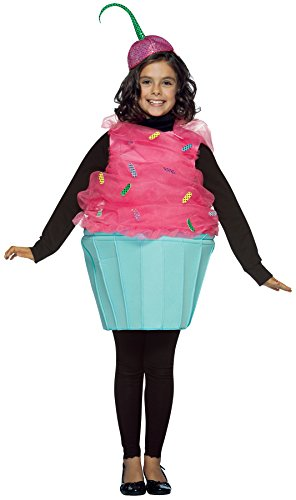 Rasta Imposta UHC Girl's Sweet Eat Cupcake Theme Dessert Food School Play Halloween Costume, Child M (7-10) -