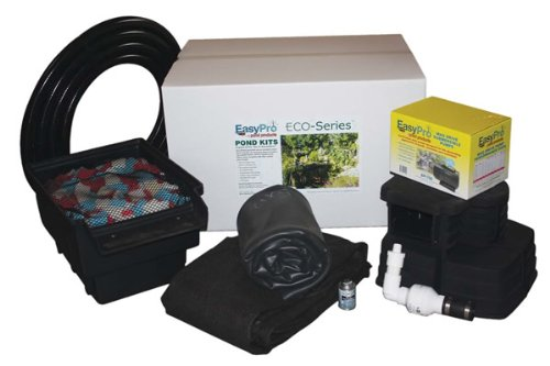 EasyPro EPK1015 Eco-Series Complete Pond Kit for 10-Foot x 15-Foot Finished Pond