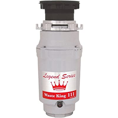 Waste King Legend Series 1/3 HP Continuous Feed Operation Garbage Disposer - (L-111)