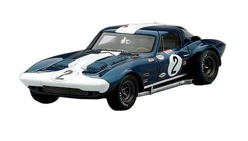 True Scale Miniaturen – tsm144320 – Chevrolet Corvette Grandsport – Sebring 1964 – Maßstab 1 43 – Blau Weiß