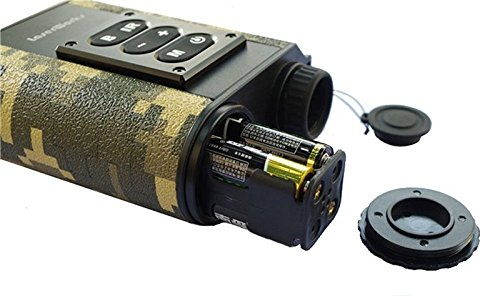 Boblov sichtfeld ir monokular laser entfernungsmesser jagd nacht