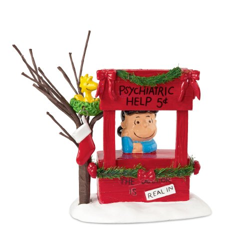 - Department 56 Peanuts Village Lucy is in Accessory Figurine