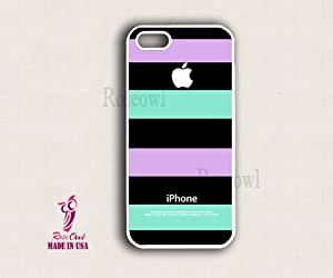 iphone 5s case, iphone 5s cover, iphone 5s cases - Purple Blue stripe apple i... by mcsharks