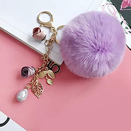 Amazon.com: Rarido Fashion Cute 5 Flowers Women Fluffy ...