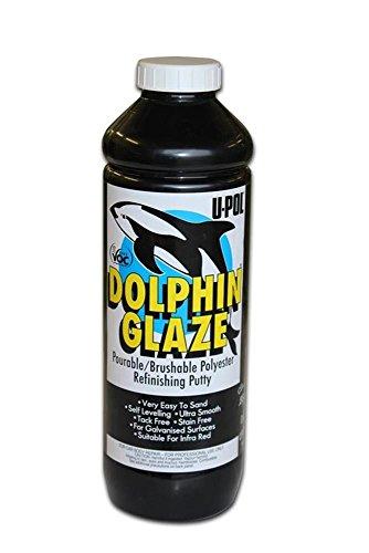 (U-Pol Products 0713 DOLPHIN GLAZE Self-Leveling Polyester Finishing - 880ml)