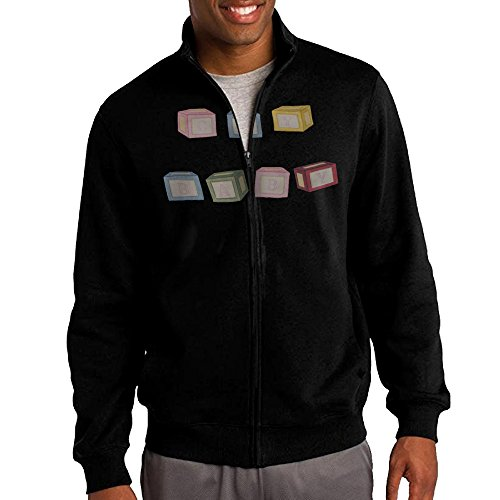 [Zepu Men's Sweatshirt Melanie Martinez Cry Baby Full-zip Hoodie Jacket M Black] (Infant Sylvester Costumes)
