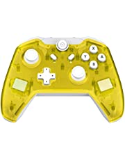 JFUNE Wireless Pro Controller per Nintendo Switch, Controller Telecomandi Gamepad Bluetooth per Nintendo Switch 8.0 Giallo (Versione di Aggiornamento)